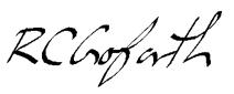 CG Signature