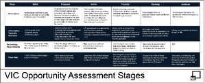 VIC Opportunity Assessment Stages