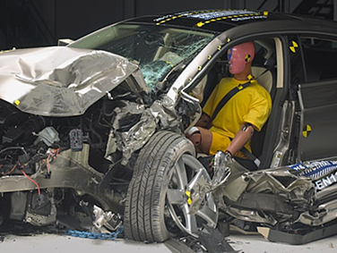 Small Overlap Car Crash