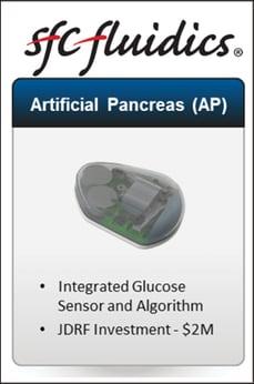 SFC Fluidics Artificial Pancreas